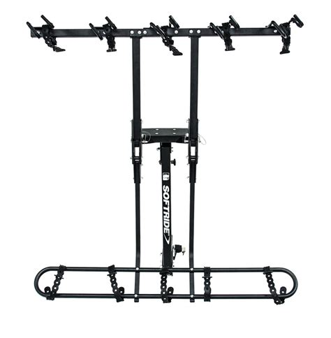 Soft Ride Bike Rack by Softride Hang5 5 Bike Rack For 2 Quot Hitches Tilting