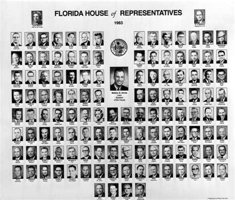 florida memory members of the 1963 florida house of