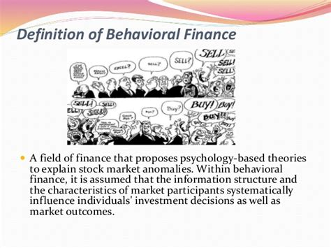 Behavioral Finance Mba by Behavioral Finance Summary