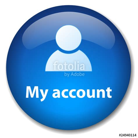 my account quot my account web button profile user login go open new