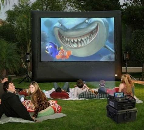 backyard theater screen outdoor screen rental 2017 2018 best