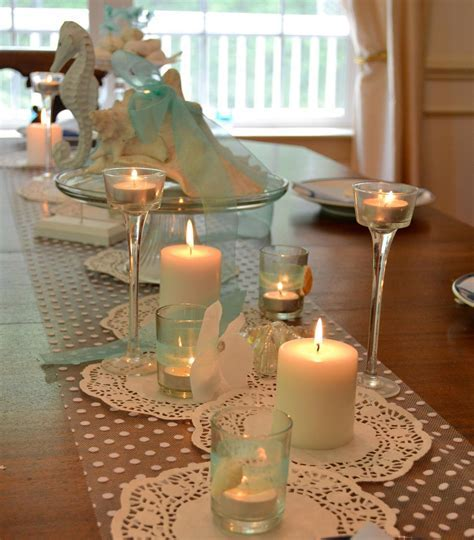 Beach Bridal Shower Decorations   Cute ideas.     Beach