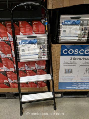 Cosco One Step Stool by Cosco 3 Step Stool