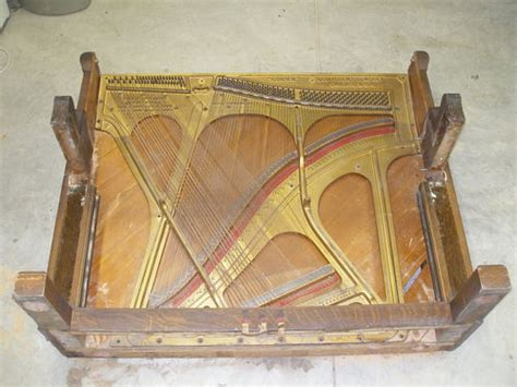 anyone repurposed an old upright piano by lathman