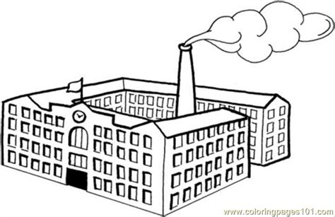 Actory Pictures Colouring Pages Factory Coloring Pages