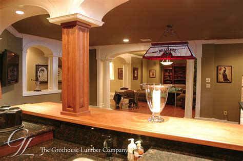 Top Bar Nj by Custom Wood Bar Top Of Cherry In New Jersey