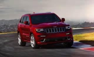 2015 jeep grand srt revealed more power