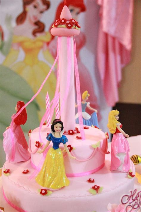 Barbie Home Decoration by Mom And Daughter Cakes Disney Princess Cake For 2 Years
