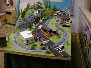 Gauge train layout plans