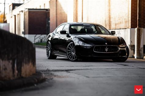 maserati ghibli black black maserati ghibli looking fly on custom polished