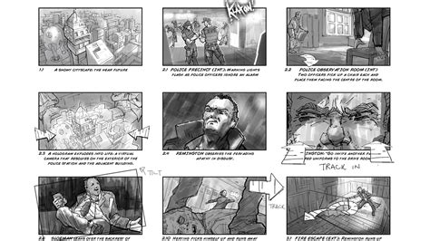 storyboard templates for photoshop drawing storyboards for the entertainment industry in