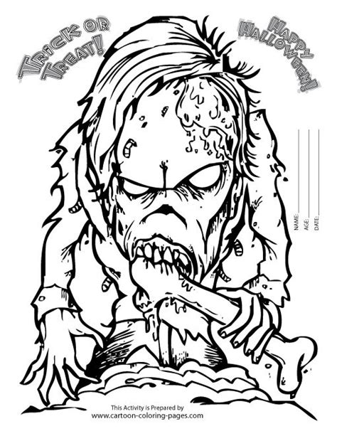 printable coloring pages halloween for adults scary coloring pages for adults coloring pages of