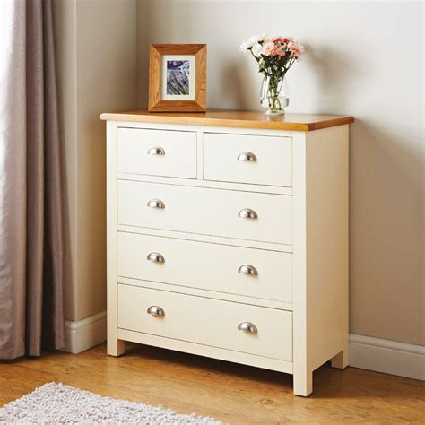 bedroom set with drawers newsham 5 drawer chest bedroom furniture b m stores