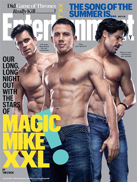 the men of magic mike the men of magic mike xxl bare their bodies for