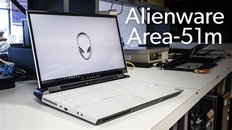 alienware area 51m unboxed and benchmarked