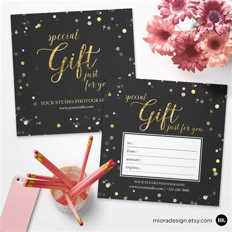 card templates for photographers 2012 photography gift certificate template for photographer