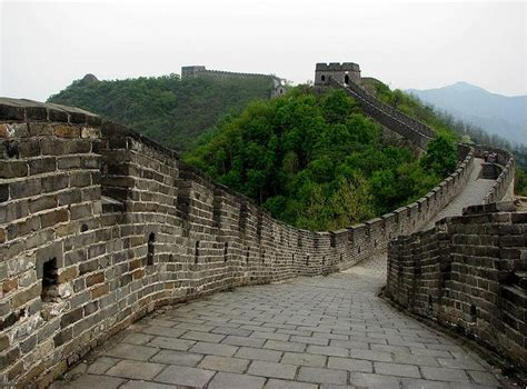 Great Wall Of China Mutianyu Section by
