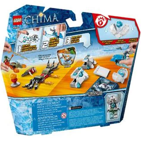 Lego 70151 Legends Of Chimafrozen Spikes T0210 lego legends of chima frozen spikes 70151