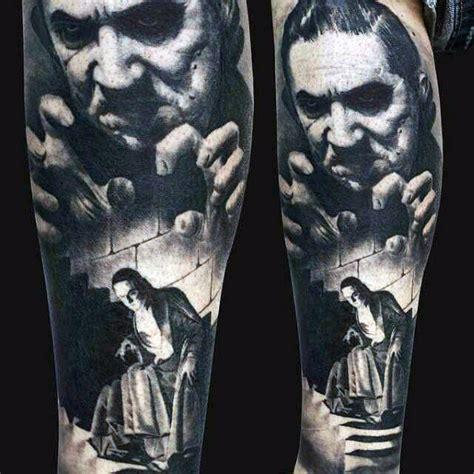 40 dracula tattoo designs for men blood vampire