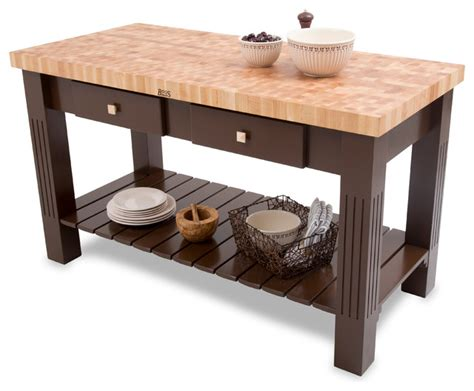 John Boos Grazzi Kitchen Island john boos maple end grain grazzi kitchen island with