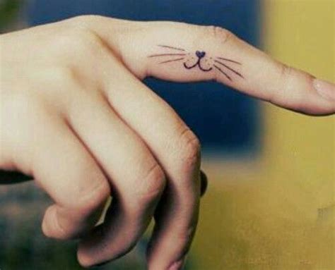 tattoo finger moustache http tattoo ideas us cat face pinterest cat face
