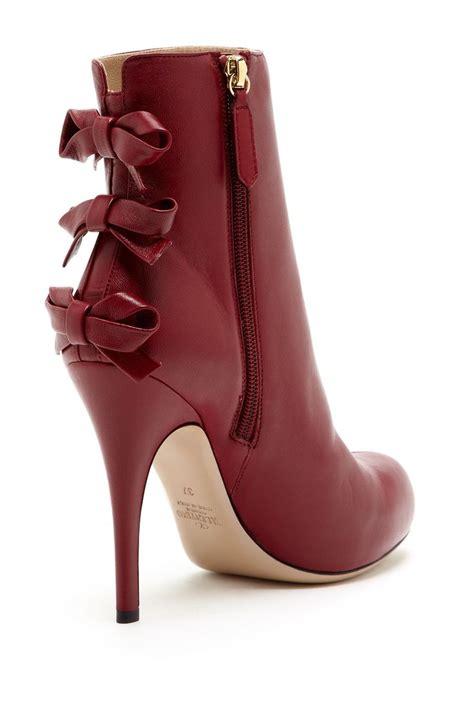 High Heels Valentino valentino bow high heel bootie on hautelook boots