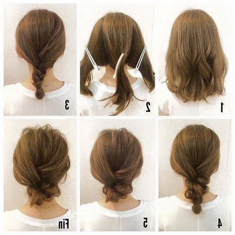 side buns for shoulder length fine hair 15 ideas of medium long updos hairstyles