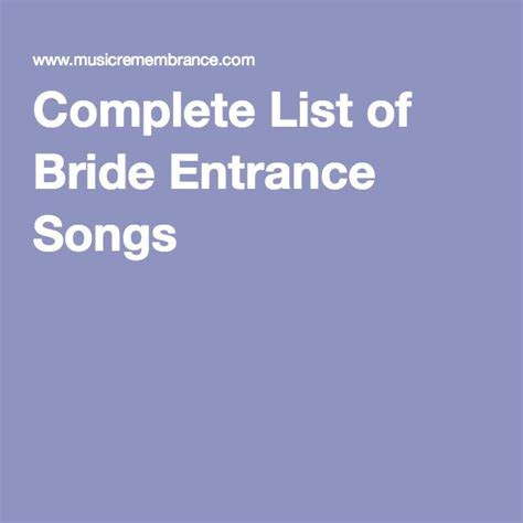 Wedding Entrance Song List by 25 Best Ideas About Reception Entrance Songs On