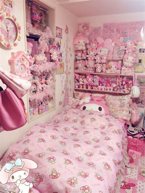 kawaii bedroom きらたん on twitter quot ずっと部屋のお掃除しててやっと終わった マイメロちゃんのウォール