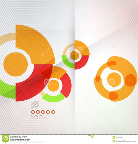 colorful modern circles powerpoint templates colorful corporate circles design templates stock image image 35915791