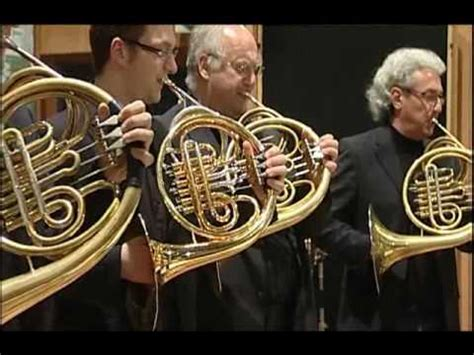 french horn section vienna horns back to the future kids loved this vid to