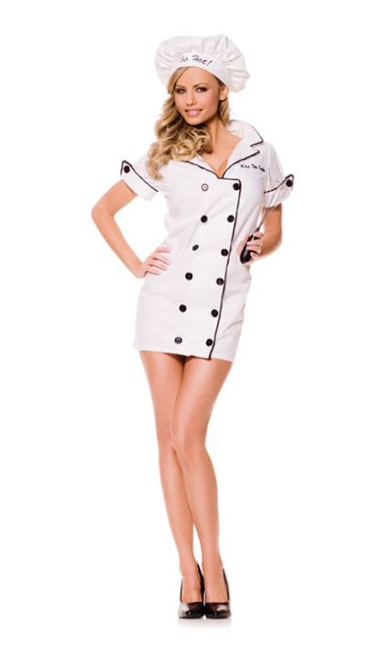 hot female chefs quot too hot quot female chef costume the costume shop