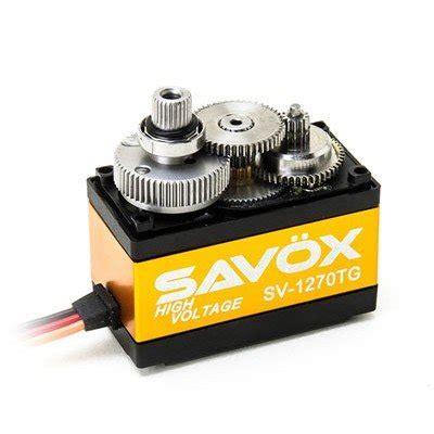 Servo Savox Sv 1270tg sv 1270tg digital coreless high voltage hrc parts quot your