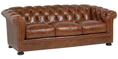 leather sofa with buttons button tufted leather chesterfield cigar sofa furniture