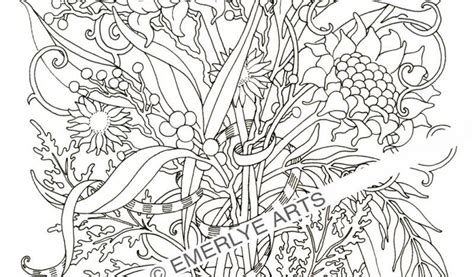 coloring pages of animals and flowers adult coloring pages safari coloring home