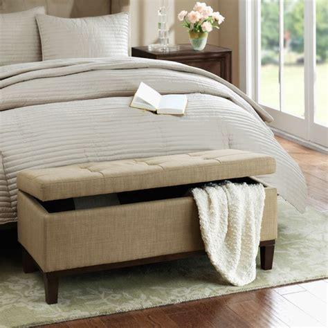 ottoman meuble banc de lit rangement