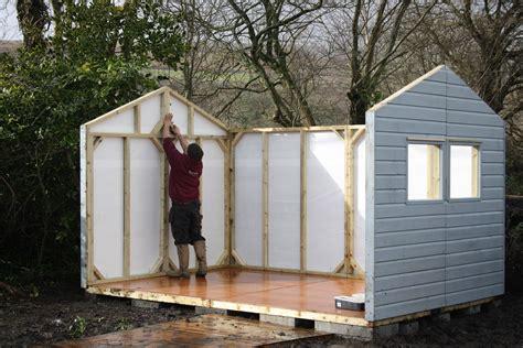 shed building  wooden workshop bampton devon