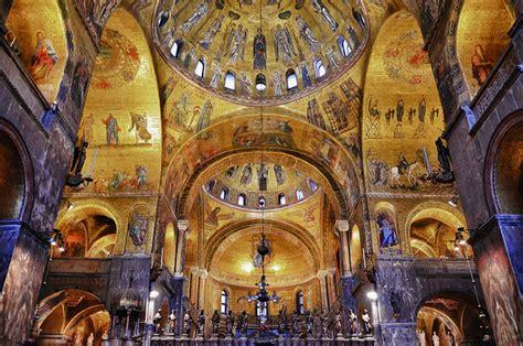 basilica di san marco interno venezia basilica di san marco in canto