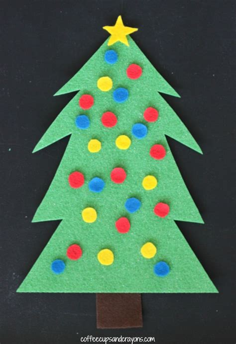 tree decorating ideas crafts tree decorating felt busy bag coffee cups and