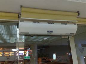 air curtain door air door