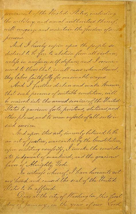 The gallery for --> Original Emancipation Proclamation Emancipation Proclamation Actual Document