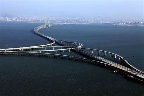 qingdao haiwan bridge 26 4 miles world record for longest bridge china