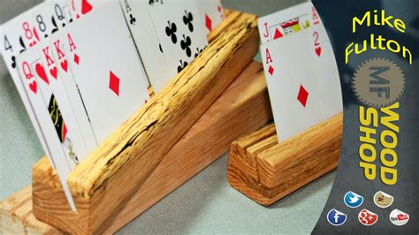 wood boardgame card holder template cards holder