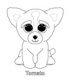 beanie boo coloring pages ty gallery