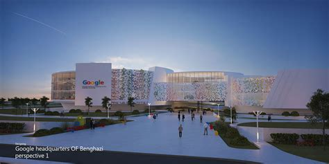 where is google headquarters located designing google headquarters of benghazi noran samir