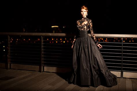 black wedding dress models the sexy and sophisticated touches on black wedding gowns
