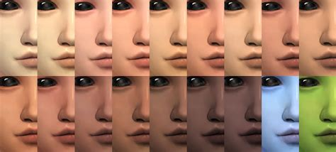 sims 4 cc skin colors my sims 4 blog wild ones skin overlay by holosprite