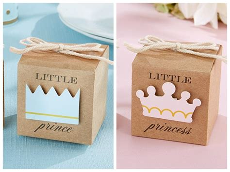 2016 Baby Shower Favors of Little Prince Kraft Favor Boxes For Baby Birthday Party Gift Box And