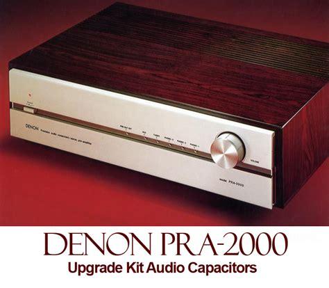 audio capacitor store denon pra 2000 upgrade kit audio capacitors