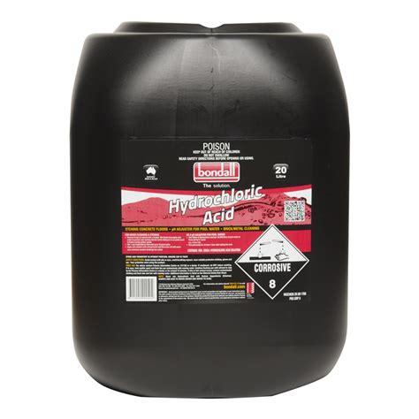Hydrochloric Acid Shelf by Bondall 20l Hydrochloric Acid Ebay